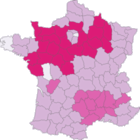 How many kisses when greeting a friend in France by region?